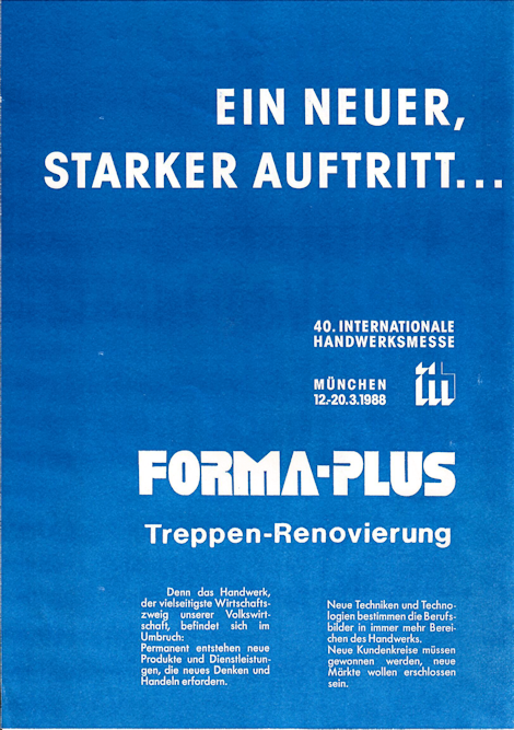 40. Internat. Handwerksmesse '88